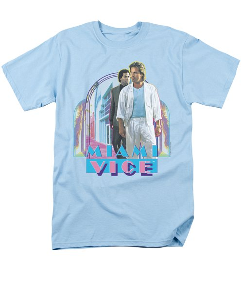 Miami Vice - Miami Heat Men's T-Shirt  (Regular Fit) by Brand A