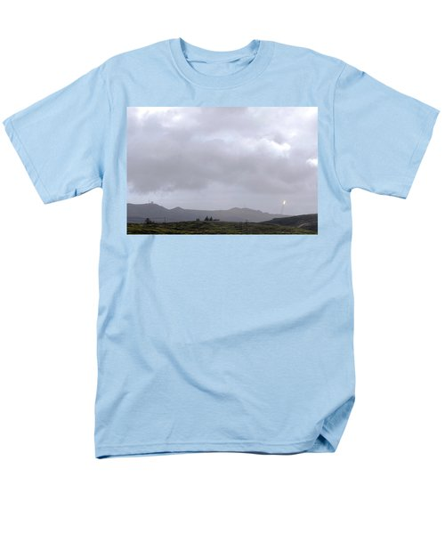 Men's T-Shirt  (Regular Fit) featuring the photograph Minotaur Iv Lite Launch by Science Source