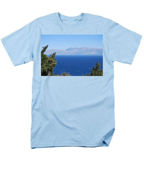 Men's T-Shirt  (Regular Fit) featuring the photograph Mistral Wind by George Katechis