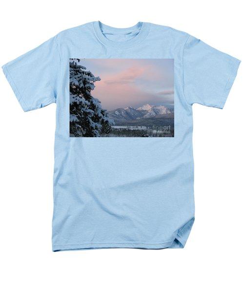 Men's T-Shirt  (Regular Fit) featuring the photograph Montana Winter by Joseph J Stevens