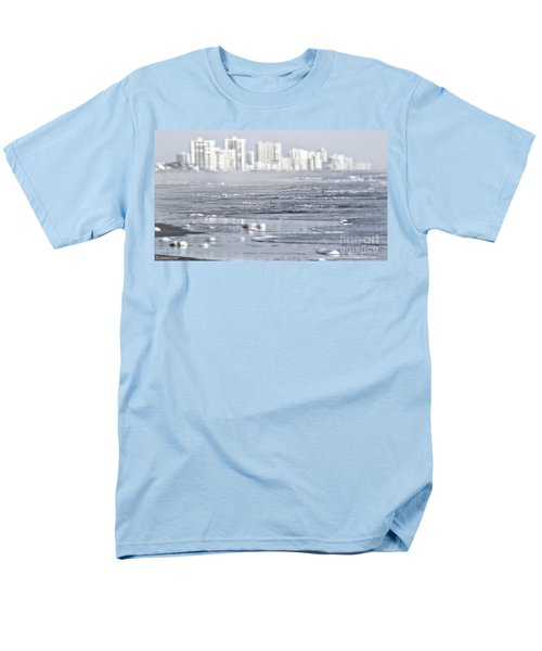 Men's T-Shirt  (Regular Fit) featuring the photograph Morning Dreams In Daytona by Janie Johnson