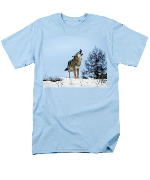 Men's T-Shirt  (Regular Fit) featuring the photograph Morning Howl by Jack Bell
