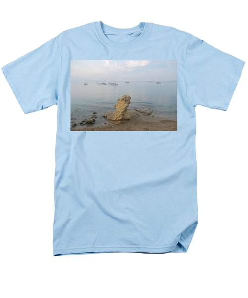 Men's T-Shirt  (Regular Fit) featuring the photograph Morning Mist 2 by George Katechis