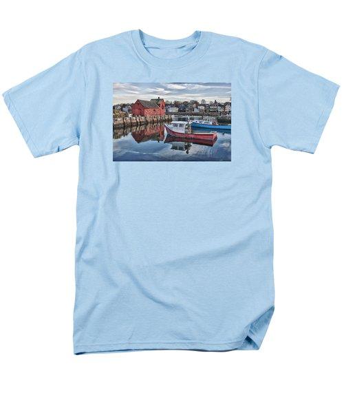 Motif 1 Sky Reflections Men's T-Shirt  (Regular Fit) by Jeff Folger