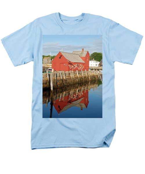 Men's T-Shirt  (Regular Fit) featuring the photograph Motif 1 With Reflection by Richard Bryce and Family