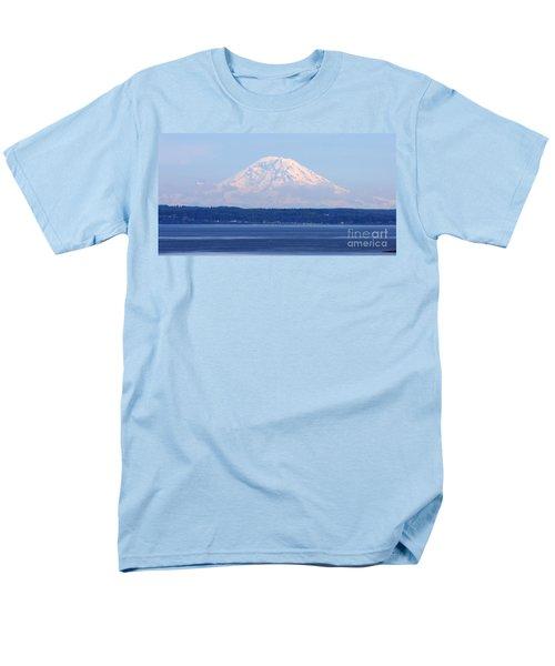 Mount Rainier Men's T-Shirt  (Regular Fit)