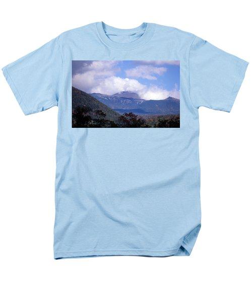 Mount Washington Men's T-Shirt  (Regular Fit) by Skip Willits