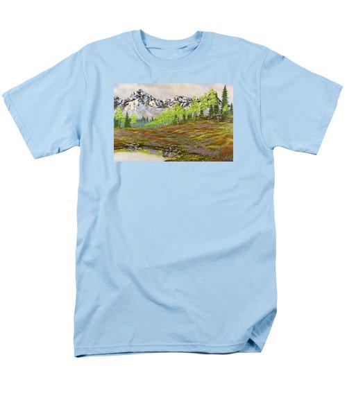 Mountain Meadow Men's T-Shirt  (Regular Fit) by Jack Malloch