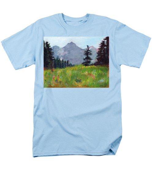 Mountain View Men's T-Shirt  (Regular Fit) by C Sitton