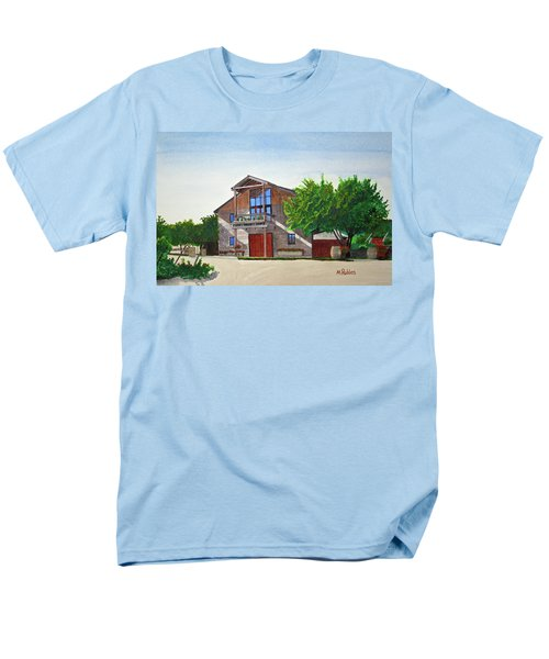 Murrietas Well Winery Men's T-Shirt  (Regular Fit) by Mike Robles