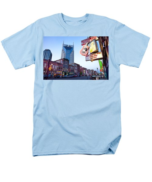 Music City Usa Men's T-Shirt  (Regular Fit) by Brian Jannsen