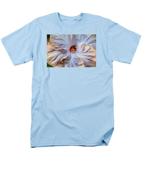 Muted Hibiscus Men's T-Shirt  (Regular Fit) by Cindy Manero