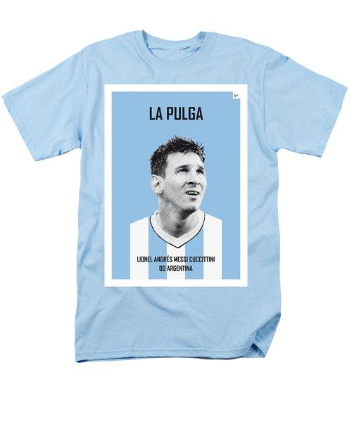 My Messi Soccer Legend Poster Men's T-Shirt  (Regular Fit) by Chungkong Art