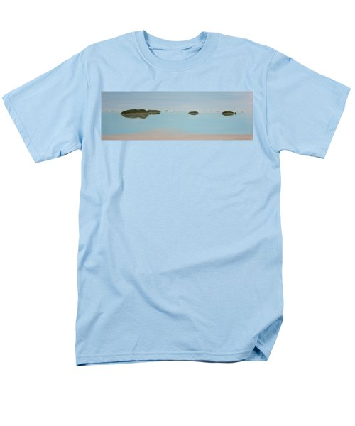 Men's T-Shirt  (Regular Fit) featuring the painting Mystical Islands by Tim Mullaney