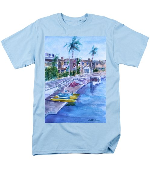 Naples Fun Men's T-Shirt  (Regular Fit) by Debbie Lewis
