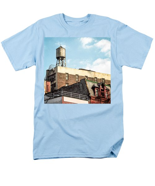 New York City Water Tower 2 Men's T-Shirt  (Regular Fit)