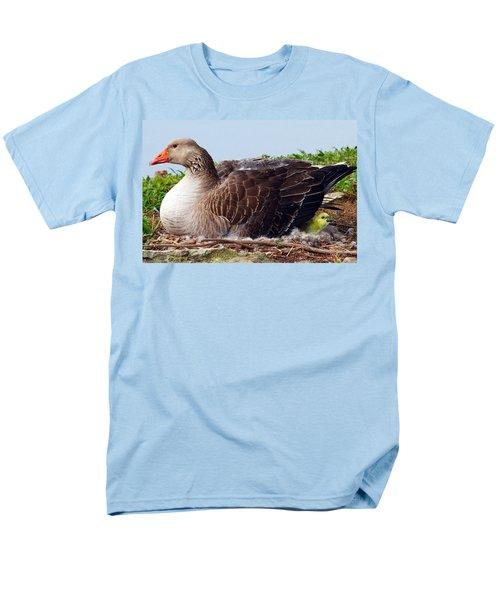 Men's T-Shirt  (Regular Fit) featuring the photograph Newborn Peek by Elizabeth Winter