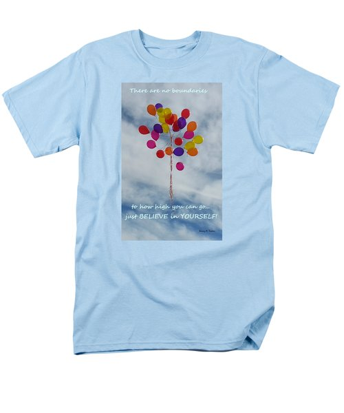 Men's T-Shirt  (Regular Fit) featuring the photograph No Boundaries by Emmy Marie Vickers