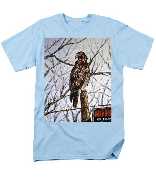 No Hunting Men's T-Shirt  (Regular Fit) by Craig T Burgwardt
