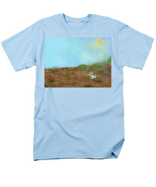 No Man's Land Men's T-Shirt  (Regular Fit) by Renee Michelle Wenker