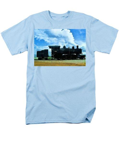 Norfolk Western Steam Locomotive 917 Men's T-Shirt  (Regular Fit) by Janette Boyd