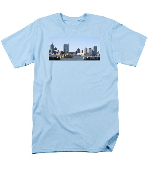 Men's T-Shirt  (Regular Fit) featuring the photograph Ny Waterways by John Telfer