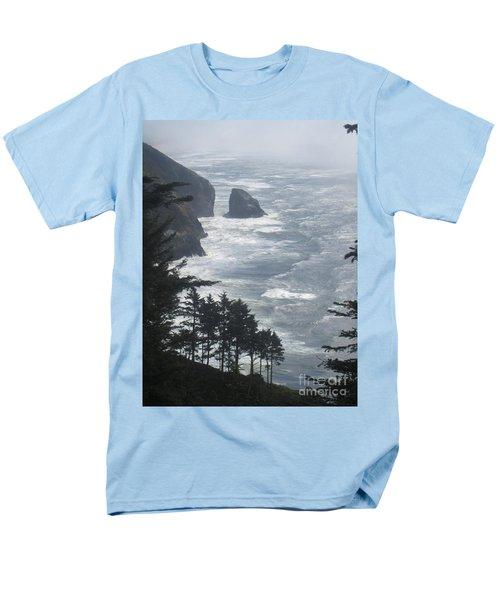 Men's T-Shirt  (Regular Fit) featuring the photograph Ocean Drop by Fiona Kennard