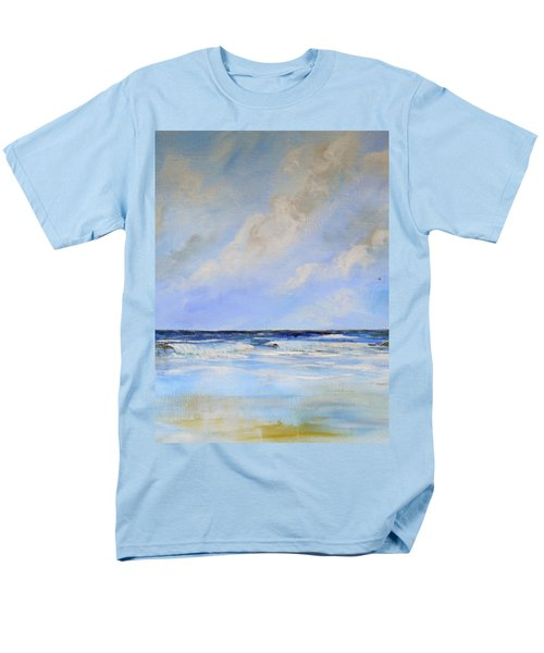 Men's T-Shirt  (Regular Fit) featuring the painting Ocean View by Dorothy Maier