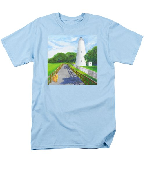 Ocracoke And Friend Men's T-Shirt  (Regular Fit) by Anne Marie Brown