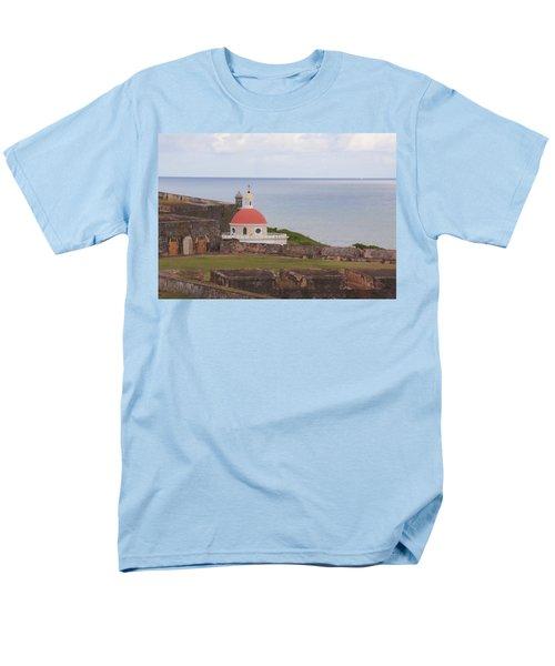 Old San Juan Men's T-Shirt  (Regular Fit) by Daniel Sheldon