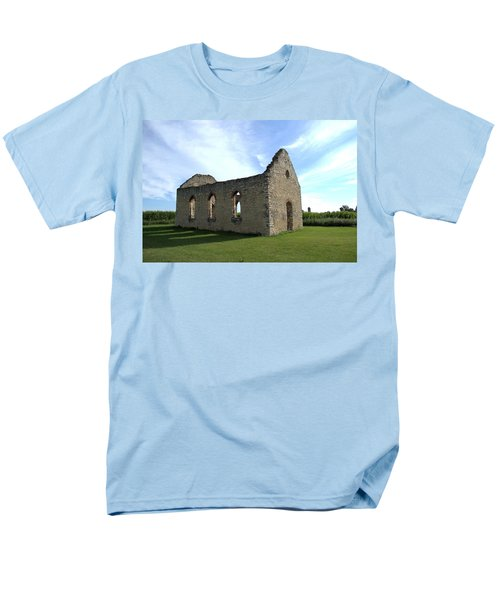 Old Stone Church 2 Men's T-Shirt  (Regular Fit) by Bonfire Photography