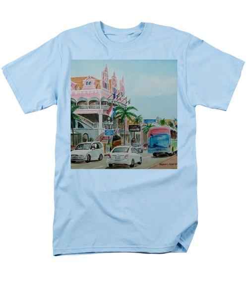 Oranjestad Aruba Men's T-Shirt  (Regular Fit) by Frank Hunter