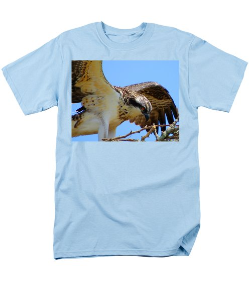 Men's T-Shirt  (Regular Fit) featuring the photograph Osprey Youth by Dianne Cowen