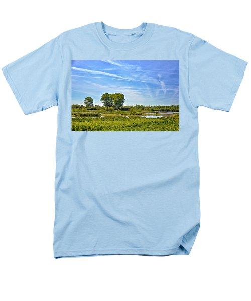 Ossenwaard Near Deventer Men's T-Shirt  (Regular Fit) by Frans Blok