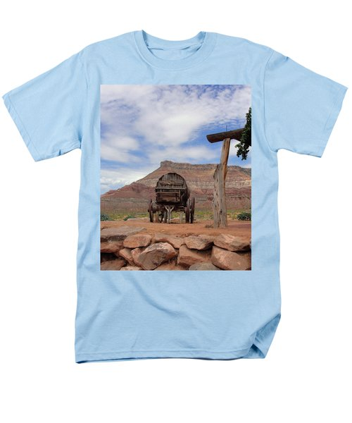 Out West Men's T-Shirt  (Regular Fit) by Natalie Ortiz
