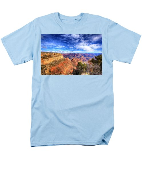 Over The Edge Men's T-Shirt  (Regular Fit) by Dave Files
