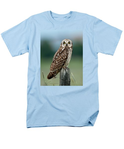 Owl See You Men's T-Shirt  (Regular Fit) by Torbjorn Swenelius
