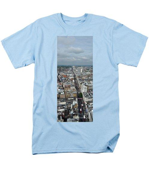 Oxford Street Vertical Men's T-Shirt  (Regular Fit) by Matt Malloy