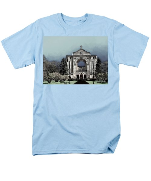 Painted Basilica 2 Men's T-Shirt  (Regular Fit) by Teresa Zieba