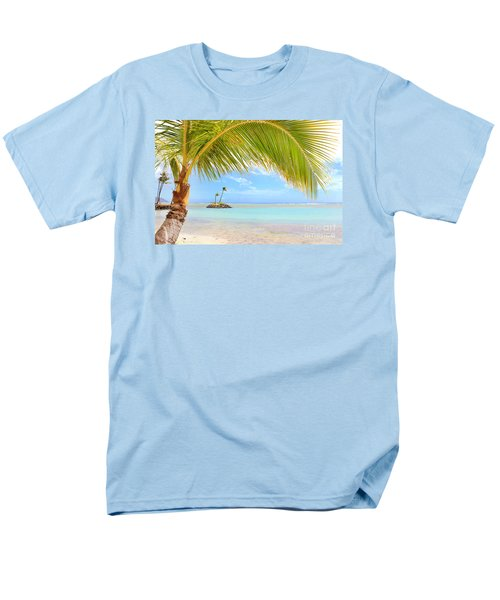 Men's T-Shirt  (Regular Fit) featuring the photograph Palm Tree by Kristine Merc