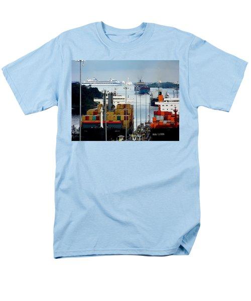 Panama Express Men's T-Shirt  (Regular Fit) by Karen Wiles
