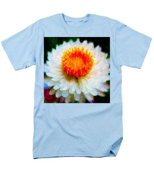 Paper Daisy Men's T-Shirt  (Regular Fit) by Chuck Mountain