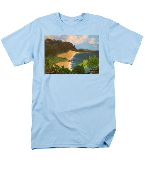 Men's T-Shirt  (Regular Fit) featuring the painting Paradise by Vanessa Palomino