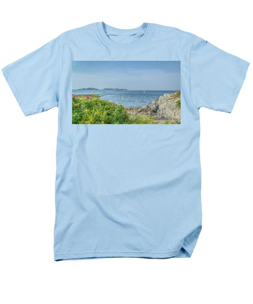 Men's T-Shirt  (Regular Fit) featuring the photograph Path To The Cove by Jane Luxton