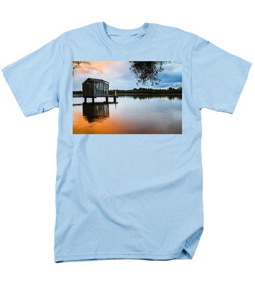 Peace At Pete's Jetty Men's T-Shirt  (Regular Fit) by Peta Thames