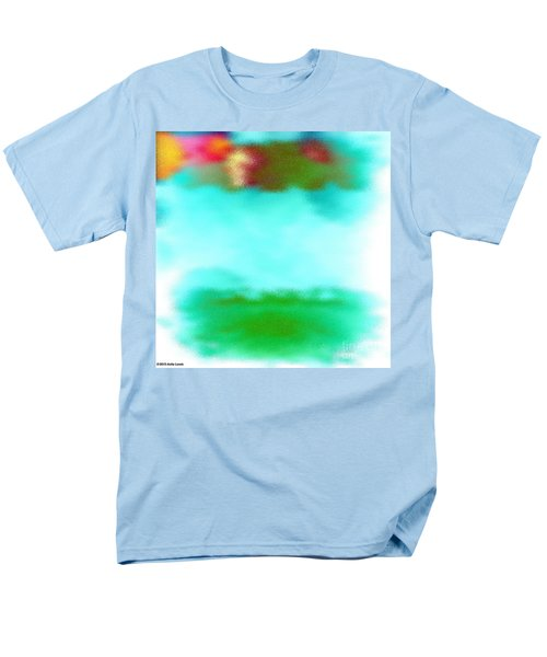Men's T-Shirt  (Regular Fit) featuring the digital art Peaceful Noise by Anita Lewis