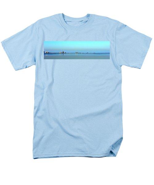 Peaceful Pensacola Beach Men's T-Shirt  (Regular Fit) by Faith Williams