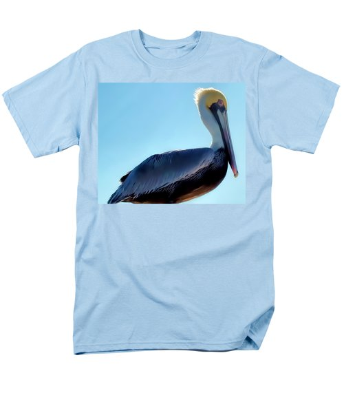Men's T-Shirt  (Regular Fit) featuring the photograph Pelican 1 by Dawn Eshelman
