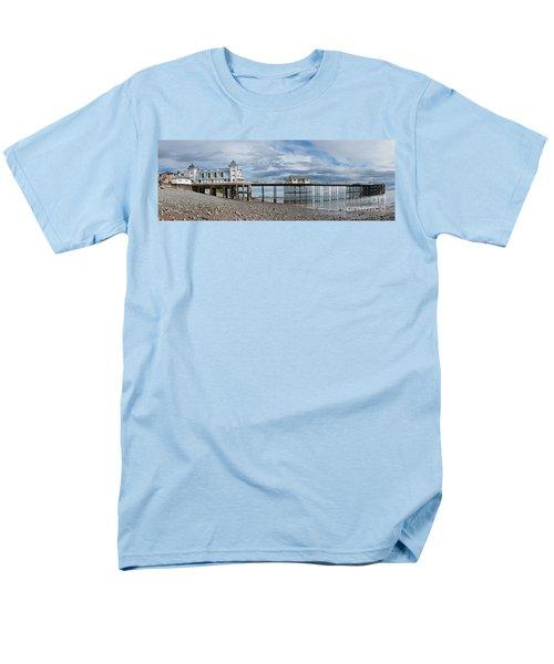 Penarth Pier Panorama 1 Men's T-Shirt  (Regular Fit)