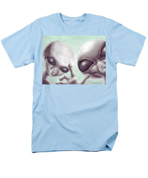 Personal Space Invaders Men's T-Shirt  (Regular Fit) by Samantha Geernaert